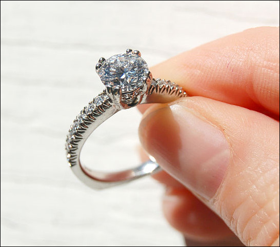 Cleaning Your Diamond Jewelry the Right Way